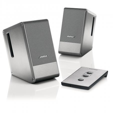 BOSE Computer MusicMonitor multimedia loudspeaker, silver