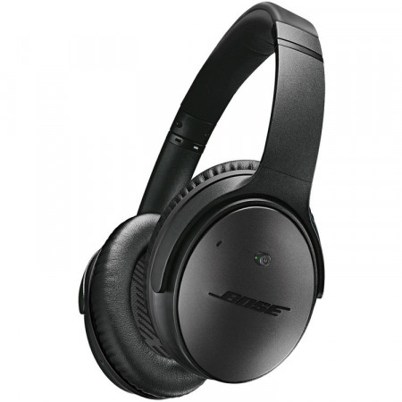 BOSE QC25 QuietComfort 25 noise cancelling headphones for selected Apple devices, black