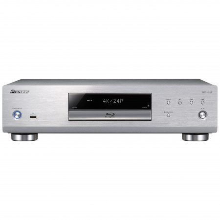 Pioneer BDP-LX58-S Blu-ray player, silver