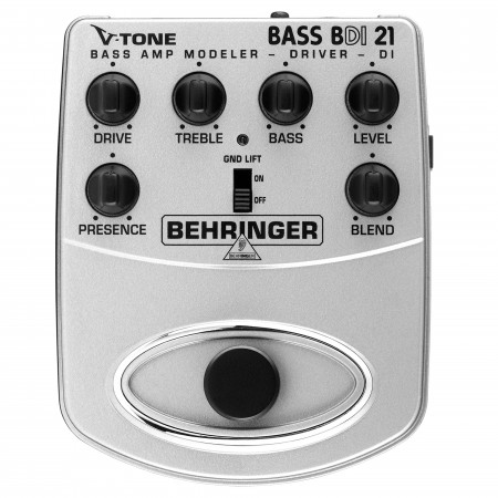 Behringer V-TONE BASS DRIVER DI BDI21 Effects Pedal