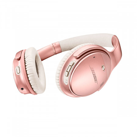 BOSE QC35 QuietComfort 35 II wireless noise cancelling headphones, rose gold (limited edition)
