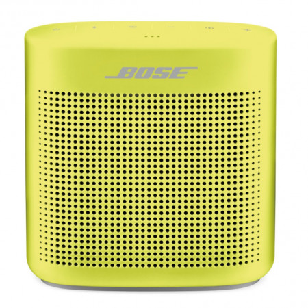 BOSE SoundLink Color Bluetooth speaker II, yellow citron