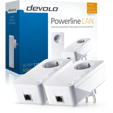 devolo D 9382 dLAN 1200+ Powerline Starter Kit
