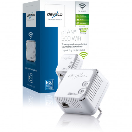 devolo D 9082 dLAN 500 WiFi Powerline