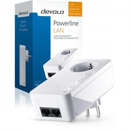 devolo D 9296 dLAN 550 duo+ Powerline