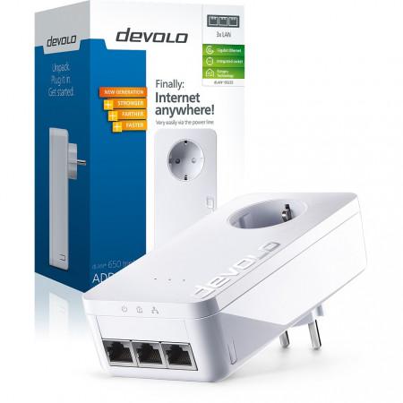 devolo D 9235 dLAN® 650 triple+ Powerline