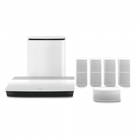BOSE Lifestyle 600 home cinema system, white