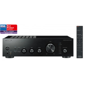 Pioneer A-40AE-B stereo integrated amplifier, black