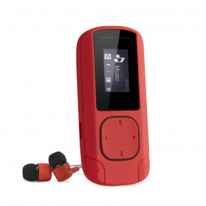Energy MP3 Clip Coral 8 GB MP3 Player with FM radio