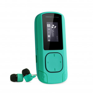 Energy MP3 Clip Mint 8 GB MP3 Player with FM radio