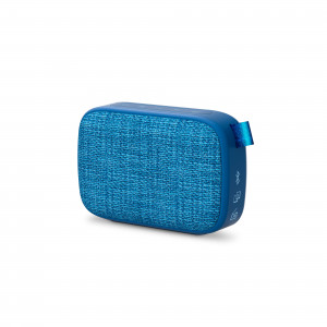 Energy Fabric Box 1+ Pocket Blueberry Portable Speaker with Bluetooth and FM radio