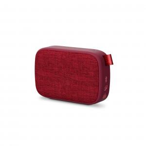 Energy Fabric Box 1+ Pocket Cherry Portable Speaker with Bluetooth and FM radio