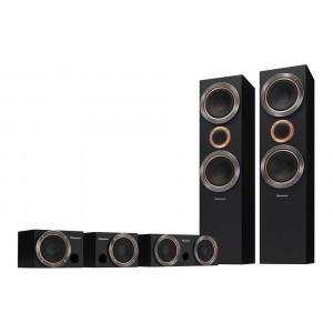 Pioneer S-RS55TB-B 5.0 home cinema speaker package