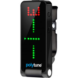 TC Electronic PolyTune Clip Black Clip-On Polyphonic Tuner