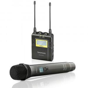 Saramonic UwMic9 Kit4 RX9+HU9 Wireless Handheld Microphone System